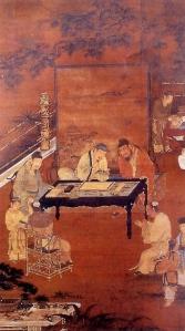 Pintura da dinastia Song.