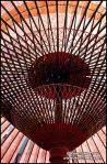 detalhe-do-papel-japones-cuidadosamente-construidos-cupula-kyoto