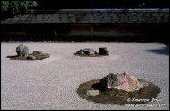 Ryoan-ji Jardim Zen