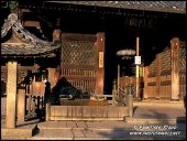 Arquitetura histórica da Kiyomizudera (água pura Templo), Kyoto, Japão