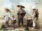 Jovem família- 1890 (Periodo Meiji)