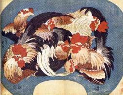 hokusai-flock-of-chickens-small