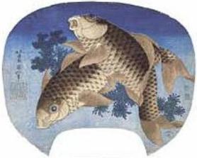 Katsushika-Hokusai-Carpe-nello-stagno-33032-1