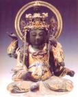 Japão - Buda (Madeira pintada) - Periodo Muromachi - séc XV