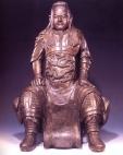 China - Guan Di (Bronze) - séc XV