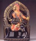 Tibet - Yaksha (Pedra pintada) - séc XVI