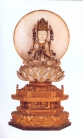 Japão - Bodhisattva (Madeira pintada) - Periodo Edo 1603/1868