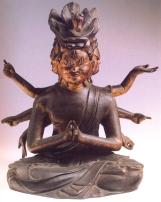 Japão - Ashura (Bronze) - Periodo Edo 1603/1868