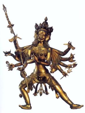 Tibet - Chakrasamvara (Bronze) - 1700