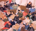 Japão - Artista: Ogata karin (1658/1716) - Periodo Edo