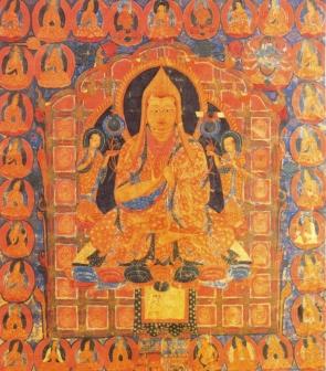 Tibet - séc XVII