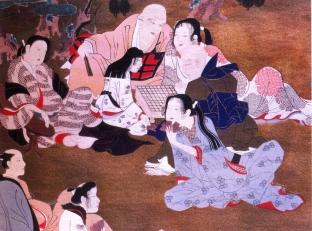 Japão - Artista: Iwasa Matabel (1578/1650) - Periodo Edo