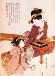 Japão - Artista: Kitagawa Utamara (1753/1806) - Periodo Edo
