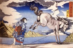 Japão - Artista: Utagawa Kuniyoshi (1797/1861) - Periodo Edo séc IX