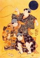 Japão - Artista: Utagawa Kunioshi (1797/1861) - Perido Edo