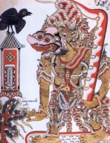 Indonesia - Java - séc IX - Deus da semana