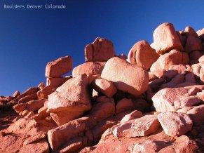Boulders on Pikes Peak near Denver Colorado