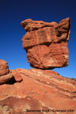 Balanced Rock, Colorado