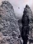 1900 - Autor desconhecido - Travessia temerária nas Dolomitas