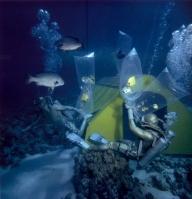 Robert B. Goodman - 1963 - Mar vermelho - Acampamento no fundo do mar