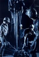 David S. Boyer - 1968 - Canadá - Petroleiros inspecionando uma broca de perfuração