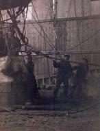 Expedição Polar Andrée 1897 - Svalbard -O balonista S.A Andrée antes de partir em seu trágico voo para o polo norte
