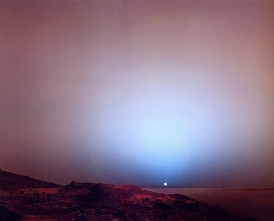 NASA - Marte 2008 - Por do sol no planeta vermelho