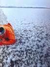 Borge Ousland - 2009 - Oceano Ártico - Barco sobre gelo fino