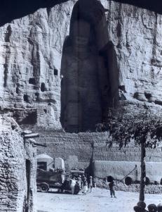Mayard Owen Williams - 1931 Afeganistão - O grande Buda de Bamian- Expedição Citroen Heard