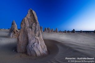 Pinnacles - Australia Desert