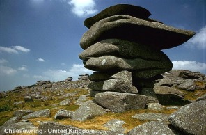 The Cheesewring, Bodmin Moor, England