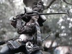 Samurai na floresta de Bonsai