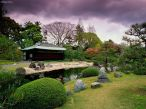 Jardim de Siruen. Castelo de Nijo - Japão