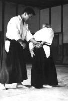 o sensei com kenji shimizu 1967 hoje fundador da tendokan aikido