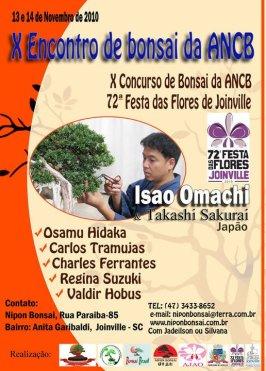 1 -X encontro de Bonsai da ANCB
