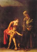 Caravaggio Madonna and Serpent