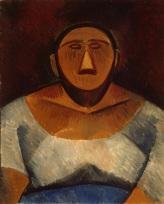 GJ-6531;0; Picasso, Pablo. Farm Woman (half-lenght).