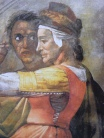 Michelangelo_Sistine_Chapel_-_Eleazar_and_Mattan_-_Detail_Mattan_with_wife