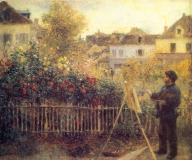 Pierre-Auguste_Renoir_-_Claude_Monet_painting_in_his_Garden_at_Argenteuil