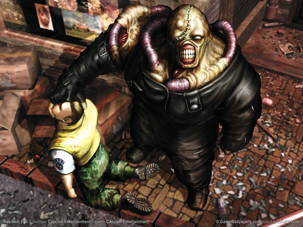 Playstation 3 ? Digital Art » resident-evil-3-wallpaper-nemesis[1]