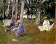 sargent-claude-monet-painting-in-a-garden-1