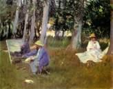 sargent-claude-monet-painting-in-a-garden