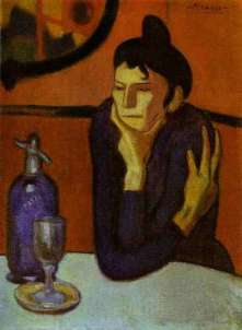 the-absinthe-drinker-picasso