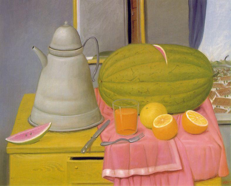 Fernando Botero Still Life Paintings