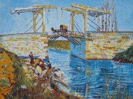 Arles_Van Gogh bridge painting