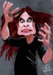 caricatura+Ozzy+Osbourne