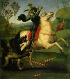 Raphael_-_Saint_George_Fighting_the_Dragon