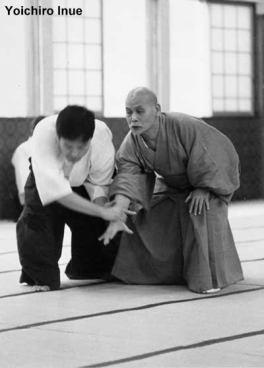 yoichiro inue com o sensei