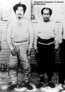 onisaburu degushi e o sensei na mongólia