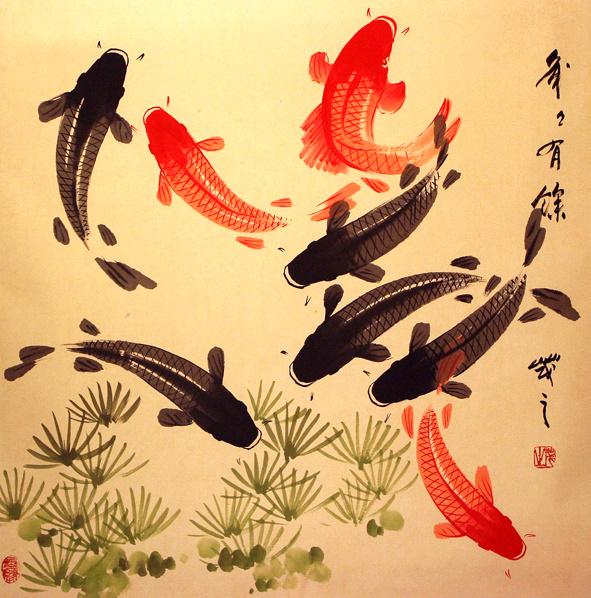 100 desenhos de carpas aido bonsai